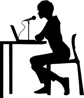 spreker met microfoon