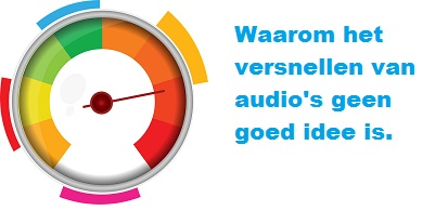 audio versnellen audiotranscriptie