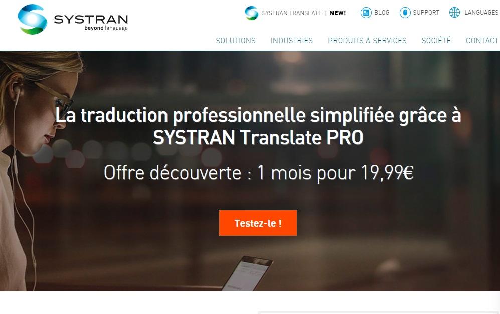 Systran vertaalsoftware