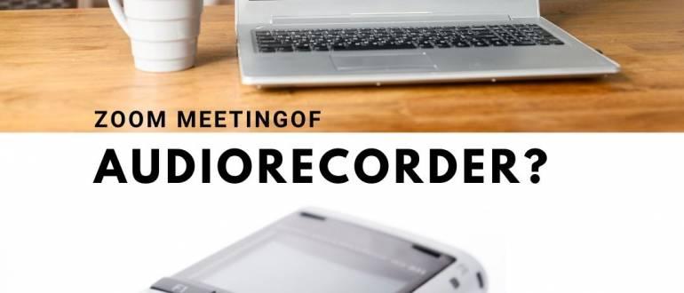 zoom meeting focusgroep uitwerken uittypen